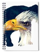 Elephant And Eagle Spiral Notebook