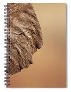 Elephant Ear Close-up Spiral Notebook