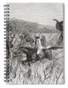 Elephant Hunters In The 19th Century Spiral Notebook