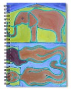 Elephant In The Room Spiral Notebook
