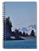 Elephant Island With Mount Iliamna Spiral Notebook