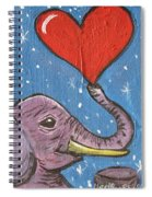 Elephant Love Spiral Notebook