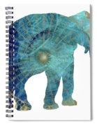 Elephant Maps Spiral Notebook