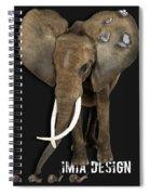 Elephant No 04 Spiral Notebook