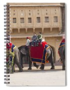 Elephant Ride 2 Spiral Notebook