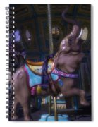 Elephant Ride At The Fair Spiral Notebook
