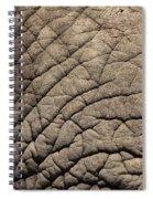 Elephant Skin Background Spiral Notebook