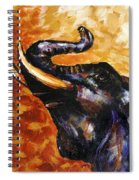 Elephant Song Spiral Notebook