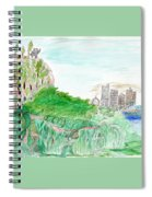 Elephoot And Friends In Satpura Mountains In India Spiral Notebook