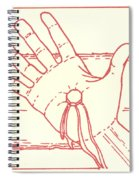 Eleventh Station- Jesus Is Nailed To The Cross  Spiral Notebook