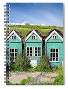 Elf Houses Spiral Notebook
