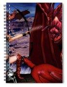 Elf Vs Dragon Spiral Notebook