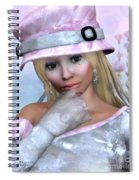 Elfin Beauty Spiral Notebook