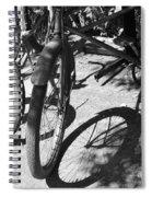 Elgin Bicycle Shadow Spiral Notebook