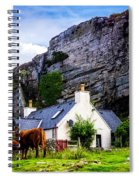Elgol Cottage, Skye Spiral Notebook