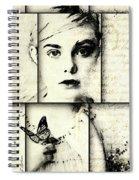 Eliannah Con Mariposa Spiral Notebook