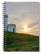 Elie Lighthouse. Late Afternoon. Spiral Notebook