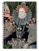 Elizabeth I Armada Portrait Spiral Notebook