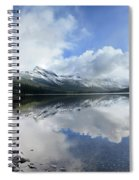 Elizabeth Lake Detail 2 - Glacier National Park Spiral Notebook