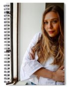 Elizabeth Olsen Spiral Notebook