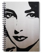 Elizabeth Taylor Diams Spiral Notebook