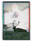 Elk - Use Red-cyan 3d Glasses Spiral Notebook