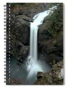 Elk Falls Provincial Park Waterfall Spiral Notebook