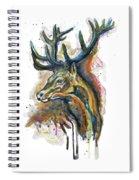 Elk Head Spiral Notebook