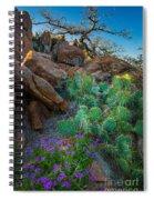 Elk Mountain Flowers Spiral Notebook