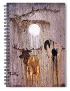 Elk Spirit Spiral Notebook
