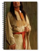 Elkfoot Of The Taos Tribe Spiral Notebook