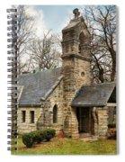 Elkhart Illinois Chapel Spiral Notebook