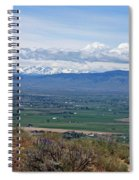 Ellensburg Valley With Sagebrush And Lupine Spiral Notebook