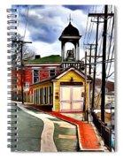 Ellicott City Fire Museum Spiral Notebook