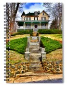 Ellicott City House Spiral Notebook