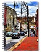 Ellicott City Sidewalk Spiral Notebook