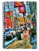 Ellicott City Street Spiral Notebook