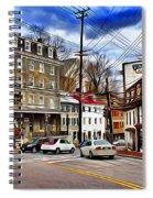 Ellicott City Streets Spiral Notebook