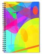 Ellipses 14 Spiral Notebook