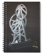 Elliptical Gears Spiral Notebook