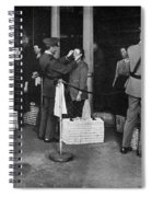 Ellis Island: Examination Spiral Notebook