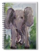 Elly Phant Spiral Notebook