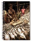 Elmina Fish Sellers Spiral Notebook