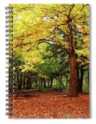 Elora Gorge Campsite In Fall Spiral Notebook