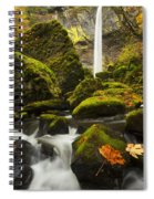 Elowah Autumn Spiral Notebook