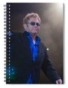 Elton John Spiral Notebook