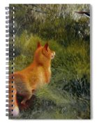 Eluding The Fox Spiral Notebook