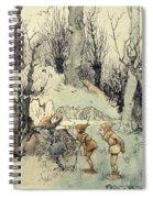 Elves In A Wood Spiral Notebook