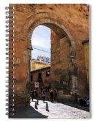 Elvira Gate Spiral Notebook