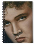 Elvis 24 1955 Spiral Notebook